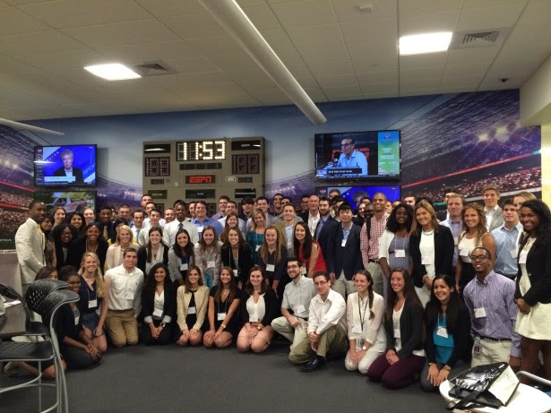 Summer Interns Given Opportunities And Memories To Last A Lifetime Espn Front Row