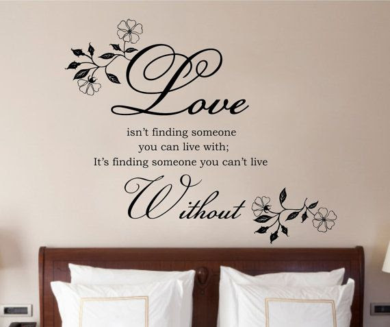 Wall Decal Quotes For Bedroom Dining Room Office 2018 Also ...