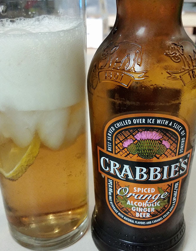 Crabbies alcoholic ginger beer, ginger beer