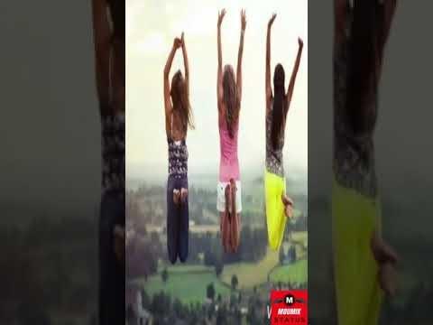Tere Sang Jeena Yahan Tere Sang Mar Jana Status Full Screen | Female | Friendship | Moumik Status
