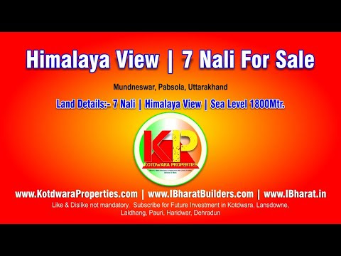Himalaya View Land/Plot For Sale In Uttarakhand