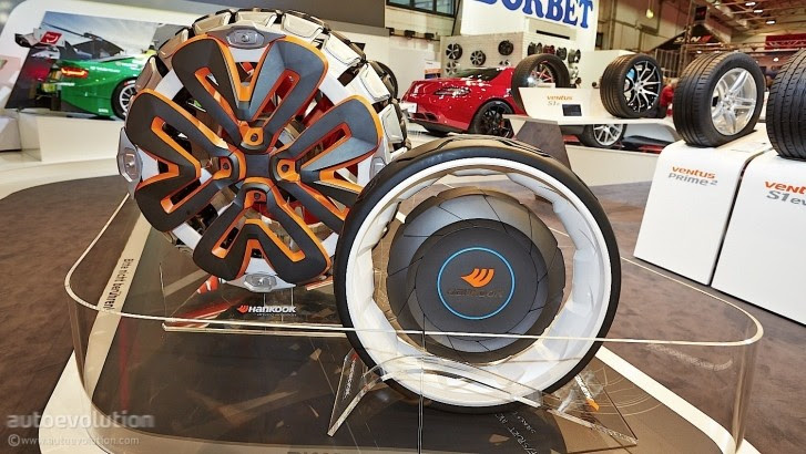 See Hankooks Future Tires And Other Funky Rims At Essen 2013 Live Photos Autoevolution