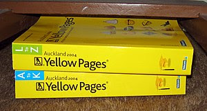 Auckland 2004 Yellow Pages books