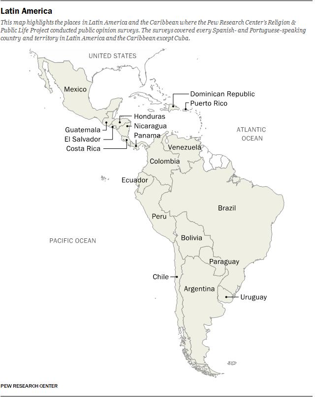 Religion In Latin America Pew Research Center