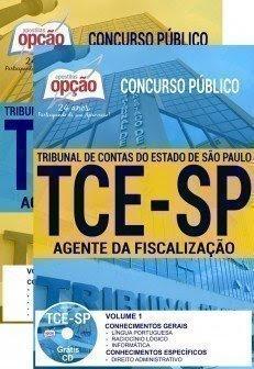 Apostila Concurso TCE SP 2017 | AGENTE DA FISCALIZAÇÃO