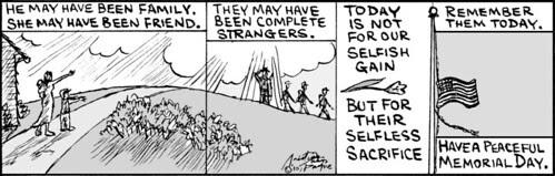 Home Spun comic strip #487
