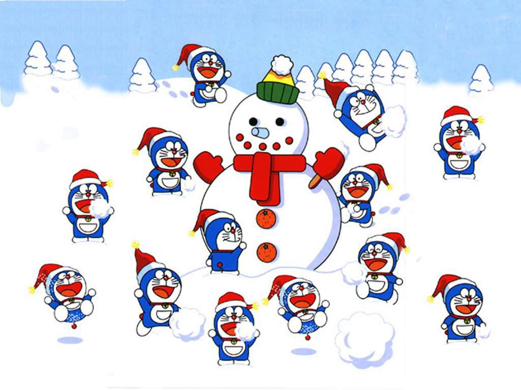 Kumpulan Gambar Kartun Natal Terbaru