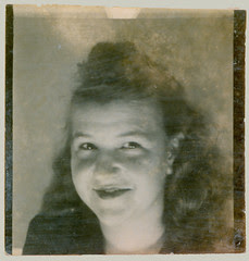 Photobooth woman with long hair