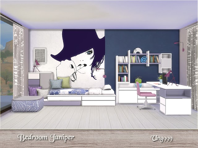 Bedroom Juniper Sims 4