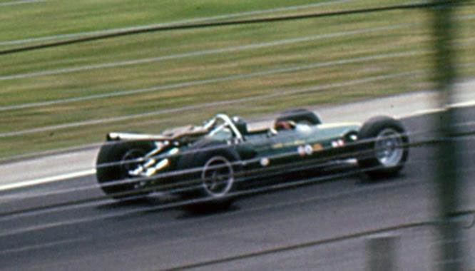 Lotus 34, Indy 500, Ed Arnaudin