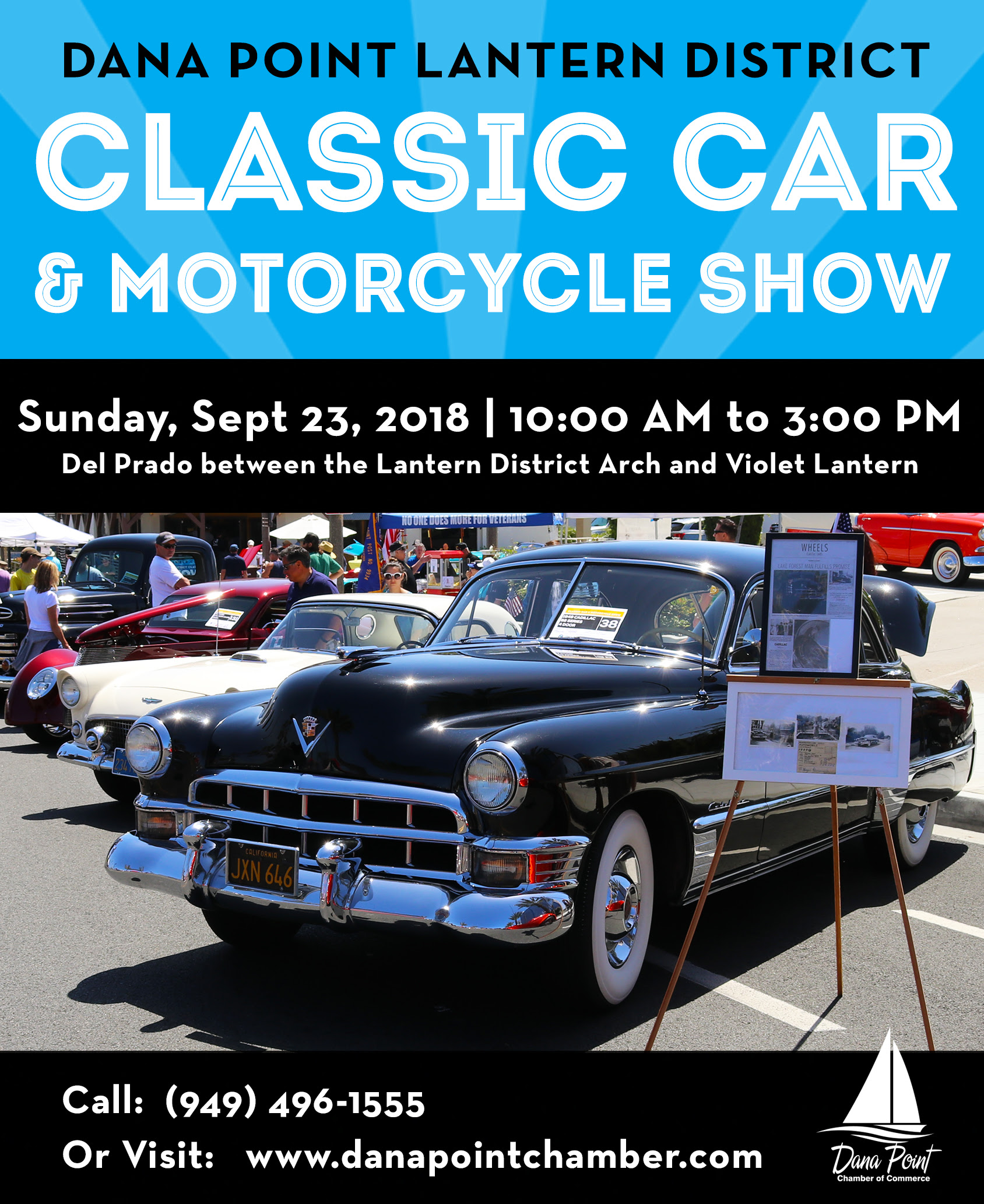 Dana Point Lantern District Car Show September 23 2018 Dana