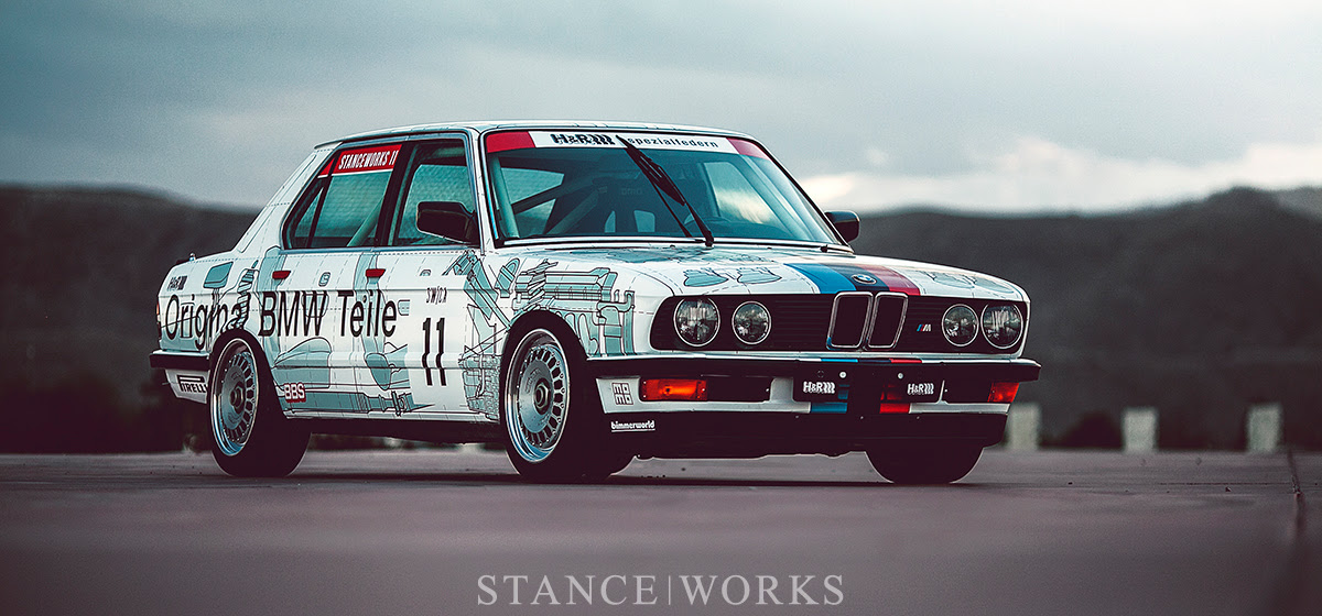 \u0026quot;Parts Car\u0026quot;  Mike Burroughs\u002639;s 1984 Group Ainspired E28 M5 Tribute