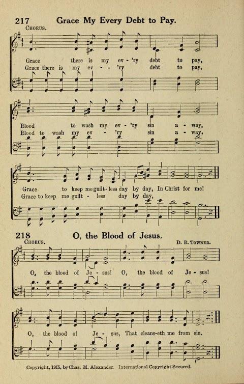 Oh The Blood Of Jesus Lyrics Hymn