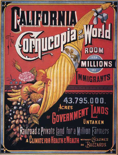 California, cornucopia of the world. Courtesy Wikipedia.