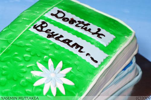 Kitap Pasta / Book Cake