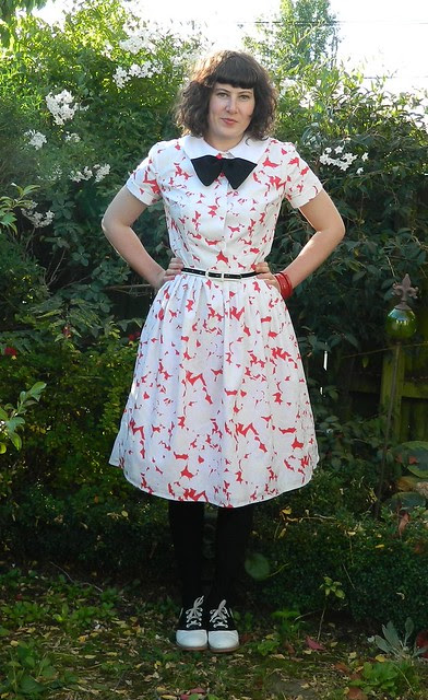 OWOP Day Six and Mad Men Challenge Dress
