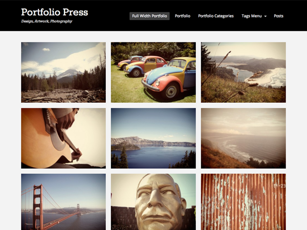 Portfolio Press Free WordPress Theme