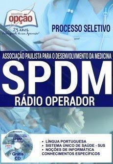 Apostila SPDM SAMU SC Estado de Santa Catarina, Rádio Operador