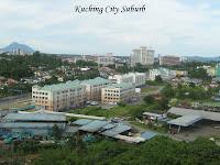 Skyline of Kuching Suburb