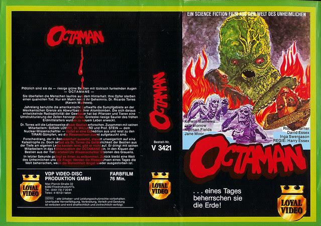 Octaman (VHS Box Art)