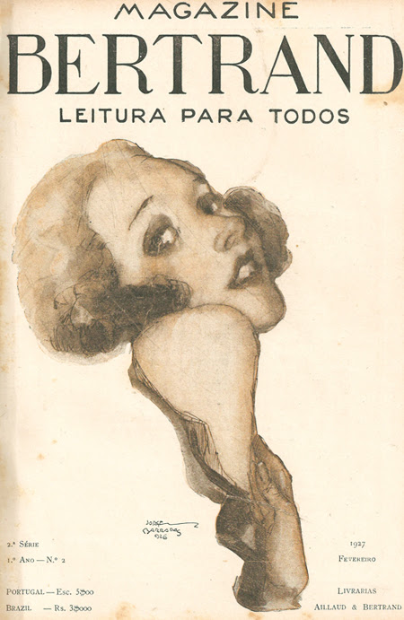 Jorge Barradas, Magazine Bertrand, 1927