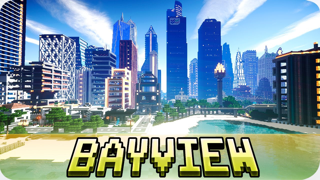 Minecraft Bayview Heights Massive Modern City With