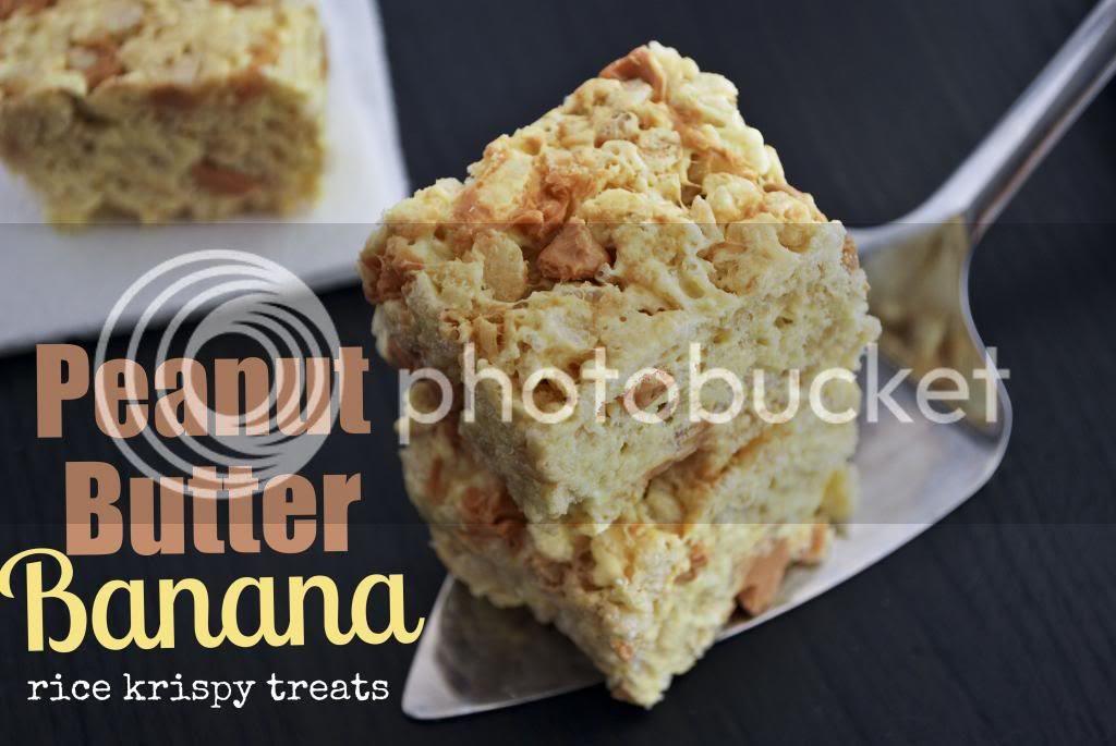 Mallow and Co: Peanut Butter Banana Rice Krispy Treats