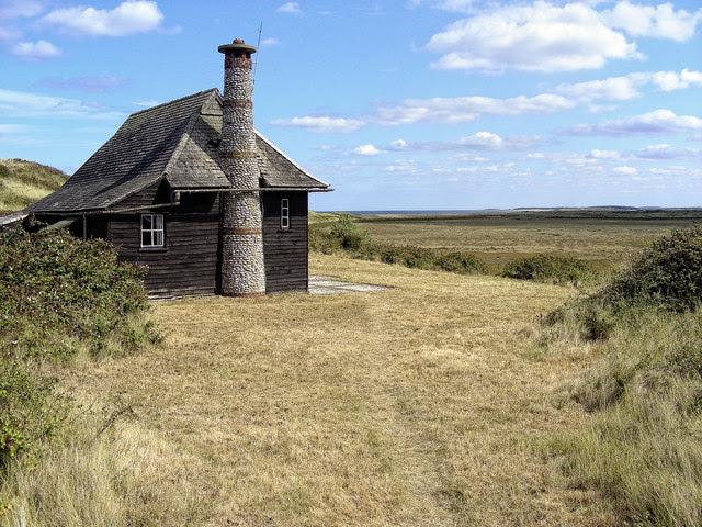 Hut On Scolt Head Island Julian Dowse Geograph