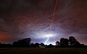 ESO tested the new Wendelstein laser guide sta...