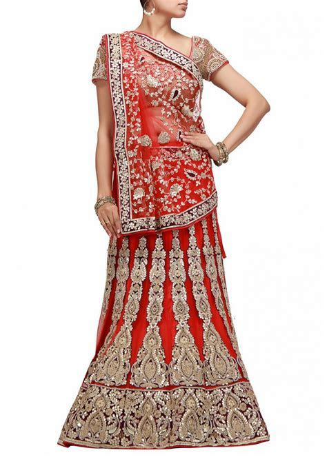 lehnga design 2014 Latest for engagement images for kids