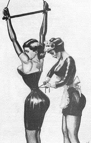Cinching Corset in BDSM