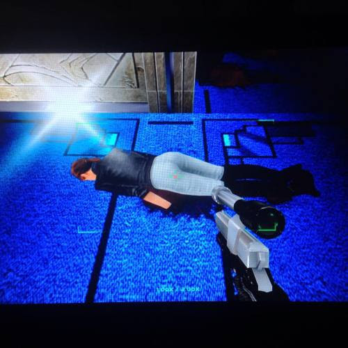Even this is a very very very old game, that game still making my pants wet. #perfectdark #xboxone #rarereplay #gaming