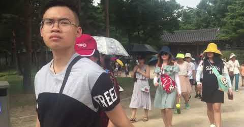 Du lịch Hàn Quốc | Quảng trường Hạnh Phúc | Hoàng cung của Hoàng Gia Hàn Quốc
