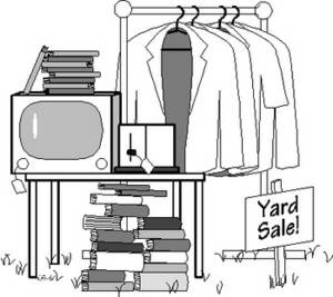 Free Picture of a Yard Sale. Click Here to Get Free Images at Clipart Guide.com