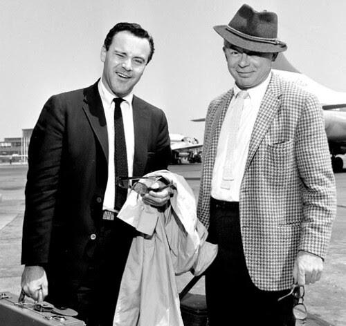 Billy Wilder & Jack Lemmon, 1959