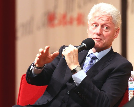 President Bill Clinton / AP