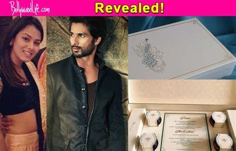Revealed: Here's what's inside Shahid Kapoor and Mira