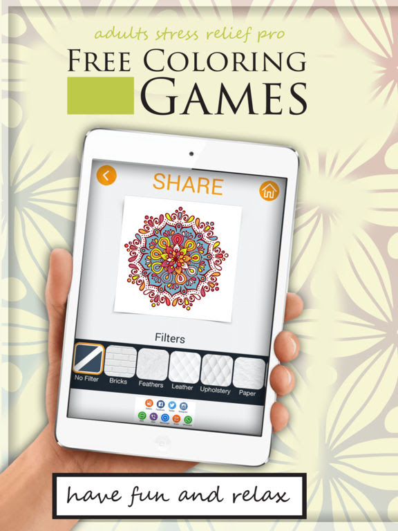 App Shopper: Free Coloring Games for Adults Stress Relief ...