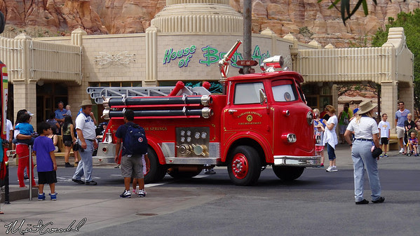 Disneyland Resort, Disney California Adventure, Cars Land, Red, Limited, Time, Magic