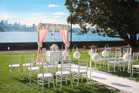 Royal Botanic Gardens Wedding   Ceremony Location Sydney
