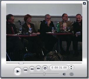 Die Schlussrunde mit PolitikerInnen und Daniel Fueter
