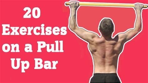 exercises   pull  bar youtube