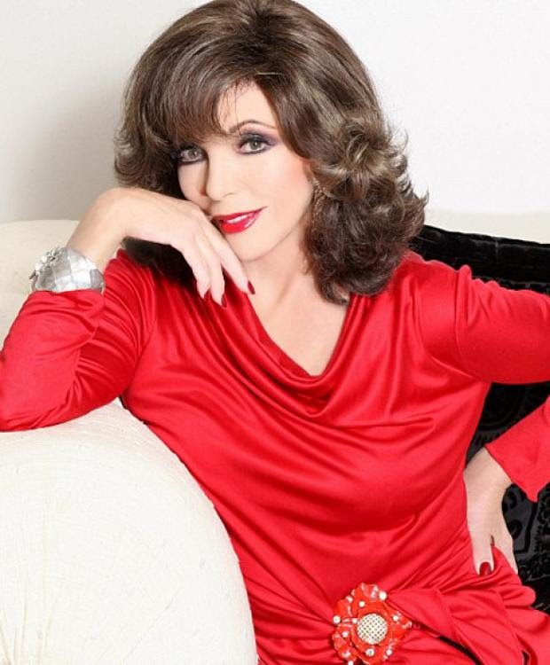 Joan Collins on beauty tips, staying fit and looking good