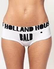 House of Holland Bald Cheeky Short