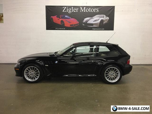 2001 Bmw Z3 Coupe Coupe 2 Door For Sale In United States