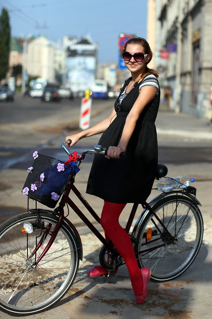 Ciclista elegante