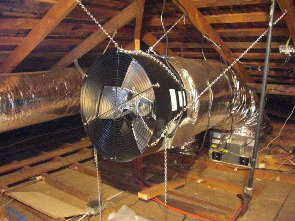 Whole House Fan. Essential Natural Cooling for Bay Area homes ! | Yelp