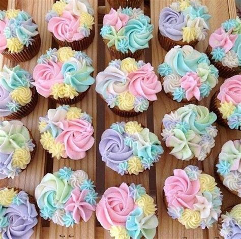 the prettiest cupcakes ever   eat cake   Pinterest