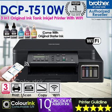 brother dcp tw original ink tank wireless printer