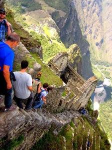 Huayna Picchu stairs